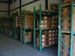 Product in warehouse